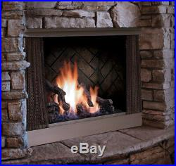 Barbara Jean OFP42 42 Wide Zero Clearance Outdoor Fireplace