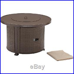 Better Homes And Gardens Gas Fire Pit Outdoor Fireplace Bronze