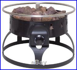 Camp Chef Redwood Portable Propane Fire Pit Bowl Outdoor Uniflame Fireplace New