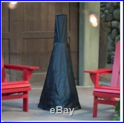Chiminea Fire Pit Wood Burning Fireplace Patio Backyard Camping Firepit W Cover