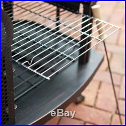 Extra Large Outdoor Fireplace with Cover Patio Barbecue Garden Heater Fire Pit