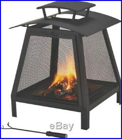 Fireplace Outdoor 21-3/4 In, No FP-102, Mintcraft