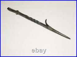 Fireplace Poker, Hand-Forged Steel Fire Pit Tool, Wrought Iron Made to Order