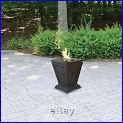 Gas Fire Pit Outdoor Patio Backyard Tabletop Propane Table Top Fireplace Heater