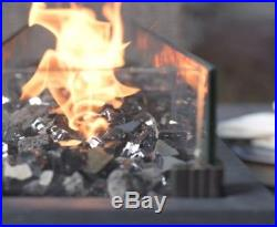 Northwoods Outdoor Tabletop Gas Fire Pit Patio Table Top Propane Fireplace  Bowl