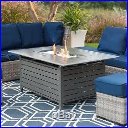 Outdoor Fire Pit Home Patio Deck Pool Backyard Propane Gas Heater Fireplace New