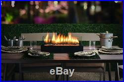 Outdoor Tabletop Gas Fire Pit Patio Table Top Propane Fireplace Bowl Heater New