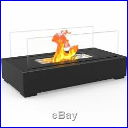 Patio Fire Pit TableTop Portable Propane Gas Fireplace Heater Indoor Outdoor Use