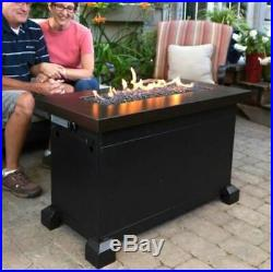 Propane Fire Pit Coffee Table Outdoor Patio Heater Deck Fireplace BBQ Party Dorm