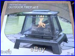 SHIPS FREE LOWER 48 NEW CharBroil Char-Broil TRENTINO DELUXE OUTDOOR FIREPLACE