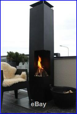 Tacora XL Outdoor Fireplace in 2 Colours-75360