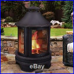Wood Cooking Fire Pit Grill Bbq Firehouse Outdoor Patio